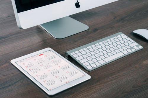 Calendar and computer, Tax Year End
